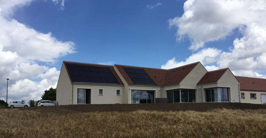 1ère maison Bepos-Effinergie en Centre Val de Loire